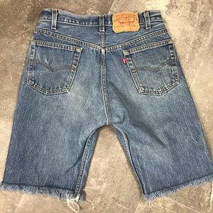 Vintage Levi's 501 Cut Off Festival Shorts